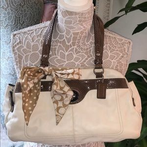 Matching Coach Wallet and Purse Set